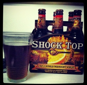Shock Top - End Of  The World Midnight Wheat