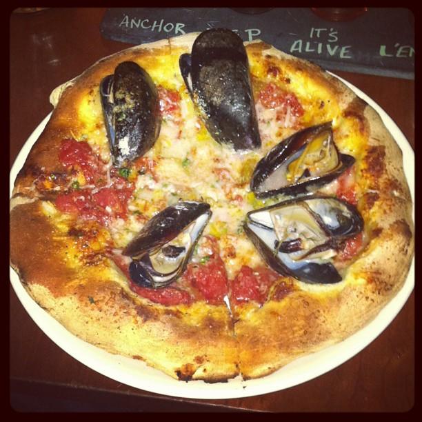 """""""Di Mare"""" Pizza from Pizzeria Paradiso"""
