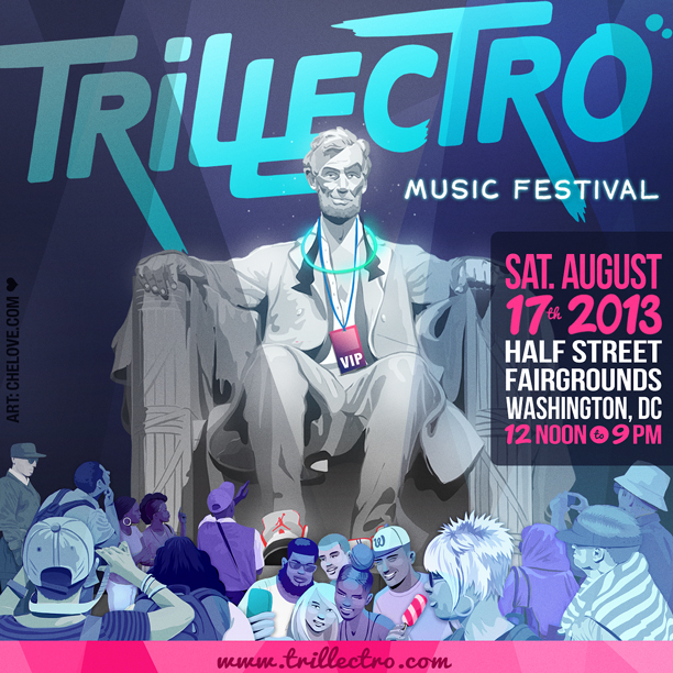 trillectro instagram flyer