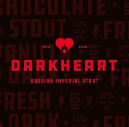 Brew and Feed Darkheart Russian Imperial Stout Graphic