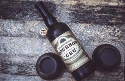 "Hardywood Park Craft Brewery - ""Bourbon Barrel Cru"" Belgian Quad Style Brew"